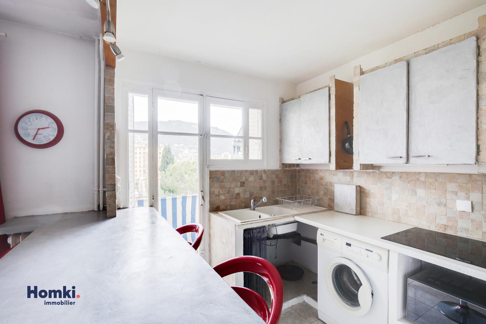 Homki - Vente appartement  de 45.0 m² à nice 06000