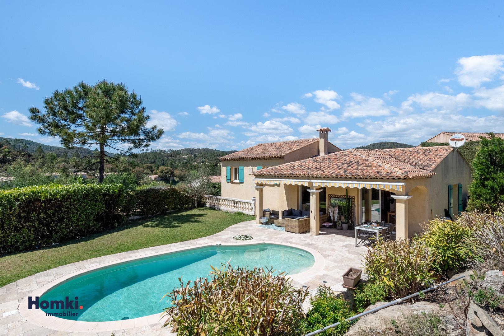 Homki - Vente maison/villa  de 145.97 m² à montauroux 83440