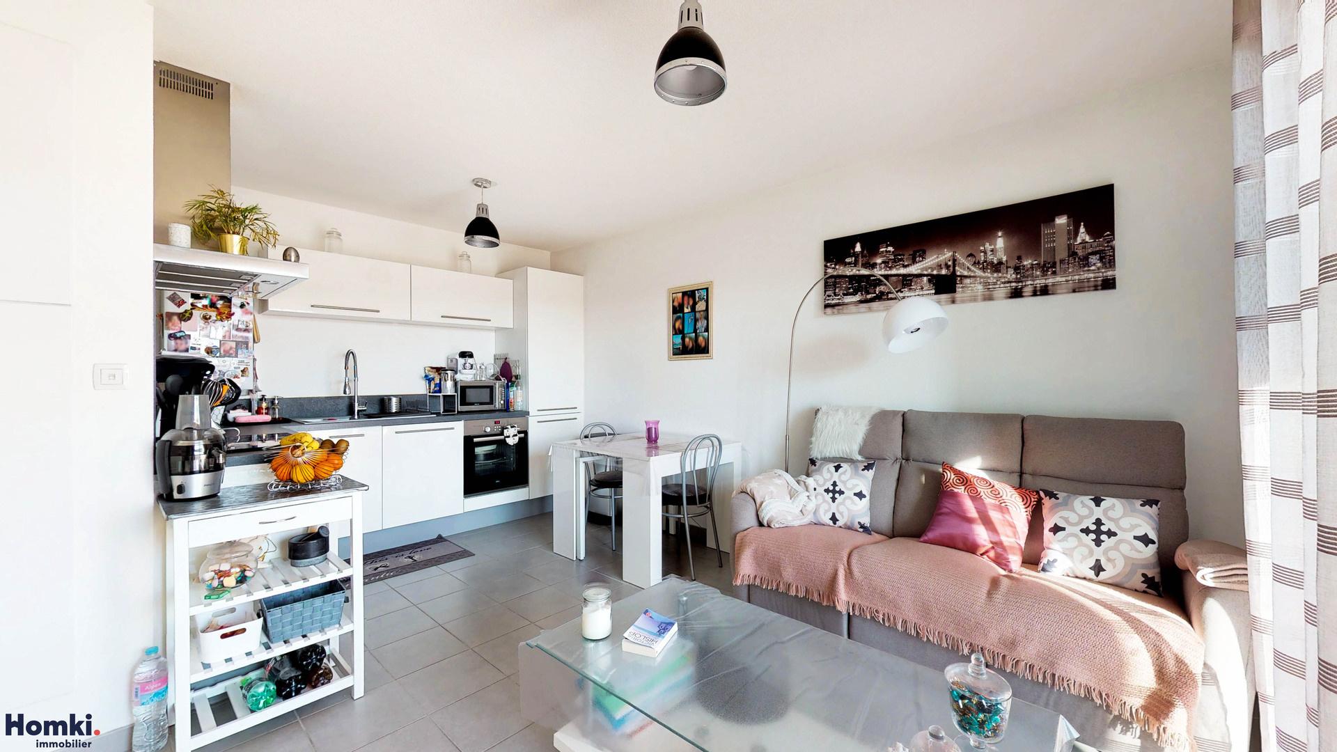 Homki - Vente appartement  de 40.0 m² à marseille 13015