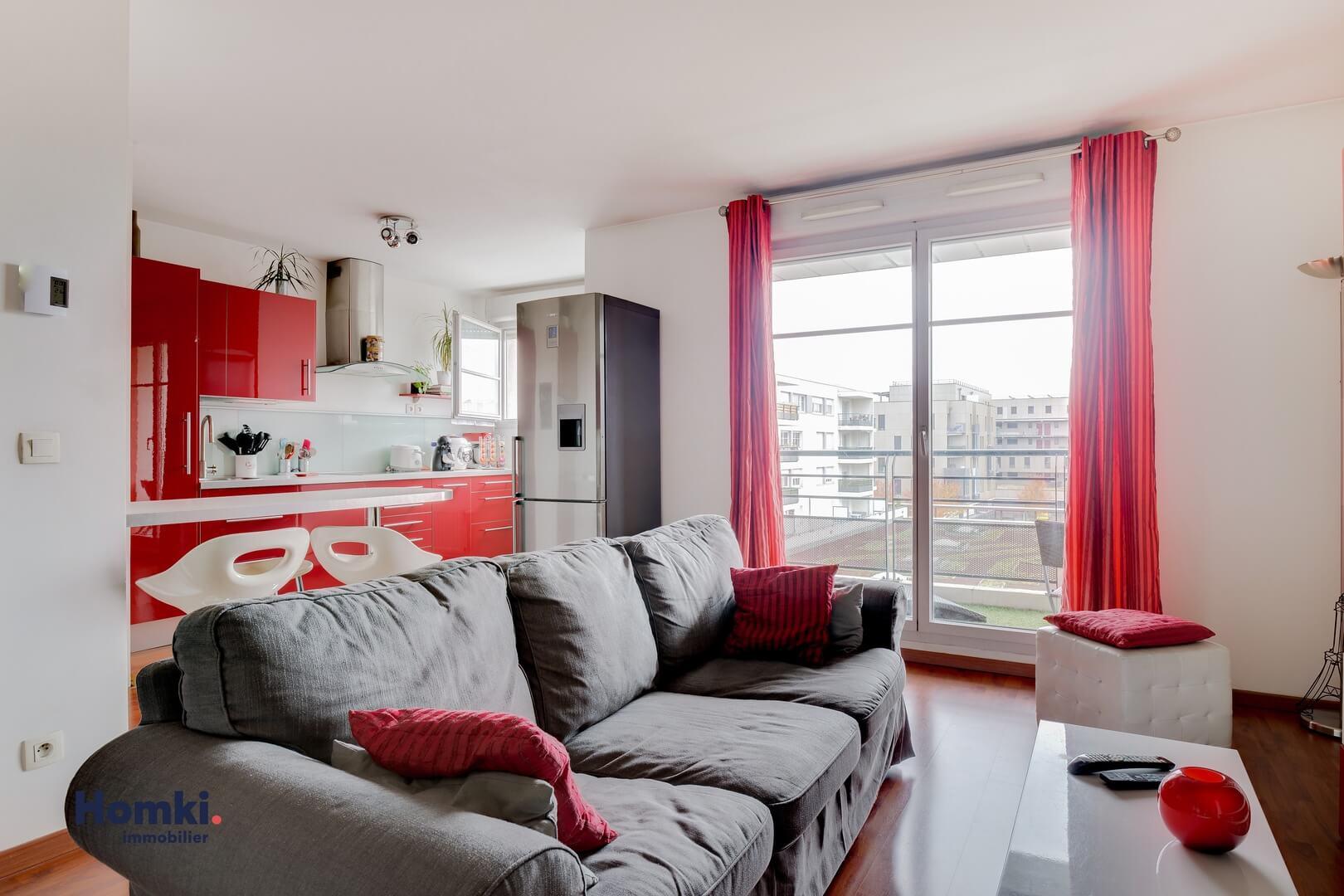 Homki - Vente Appartement  de 55.0 m² à Saint-Priest 69800